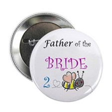 Father of the Bride to Bee Button
