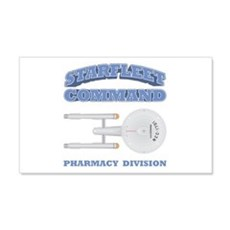 Starfleet Pharmacy Division Wall Decal