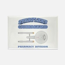 Starfleet Pharmacy Division Rectangle Magnet