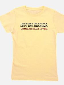 Lets eat grandma. Lets eat, grandma. Commas save l