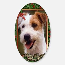 Jack Russell Terrier Dog Christmas Decal