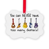 Guitar Picture Frame Ornaments