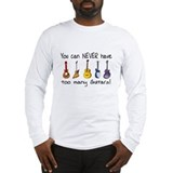 Guitar Long Sleeve T-shirts