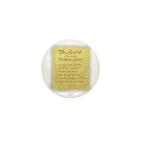 The Secret to Nursing School Mini Button (100 pack