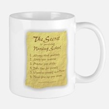 The Secret to Nursing School Small Small Mug
