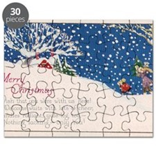 Merry Christmas Wish You Were Here Puzzle