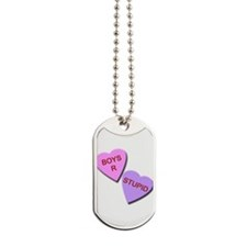 Boys R Stupid Dog Tags