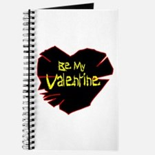 Scary Be My Valentine Journal