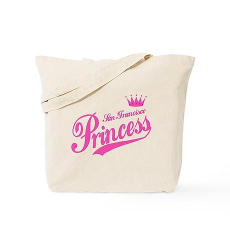San Francisco Princess Tote Bag