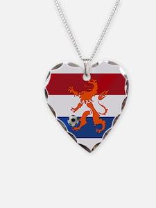 Netherlands Soccer Necklace