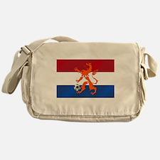 Netherlands Soccer Messenger Bag