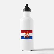 Netherlands Soccer Water Bottle