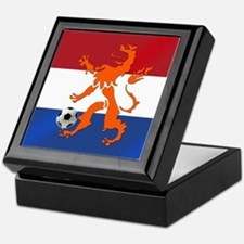 Netherlands Soccer Keepsake Box