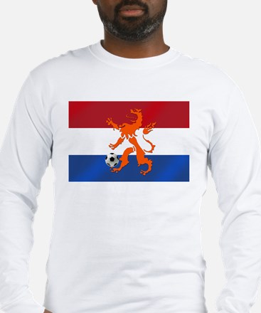 Netherlands Soccer Long Sleeve T-Shirt