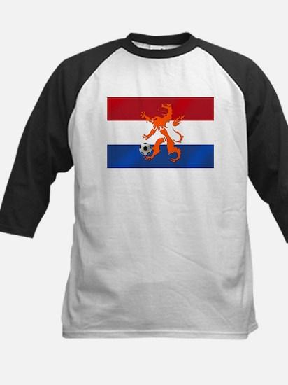 Netherlands Soccer Kids Baseball Jersey