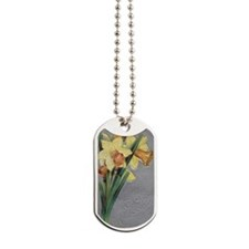 True Affection Daffodils Dog Tags
