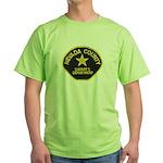 Nevada County Sheriff Green T-Shirt