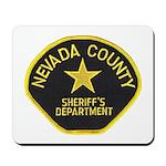 Nevada County Sheriff Mousepad
