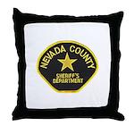 Nevada County Sheriff Throw Pillow