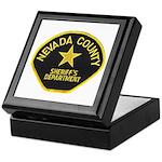 Nevada County Sheriff Keepsake Box