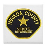 Nevada County Sheriff Tile Coaster