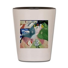 Chagalls Cats Shot Glass
