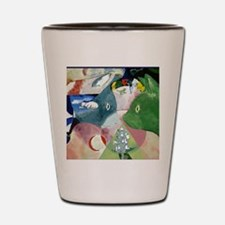 Chagalls Cats Shot Glass