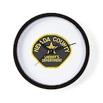 Nevada County Sheriff Wall Clock