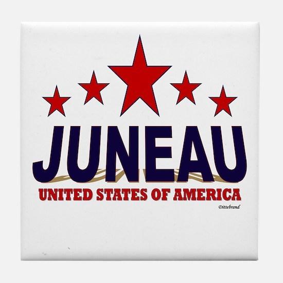 Juneau U.S.A. Tile Coaster