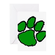Paw Print Greeting Cards (Pk of 10)