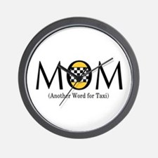 Taxi Mom Wall Clock
