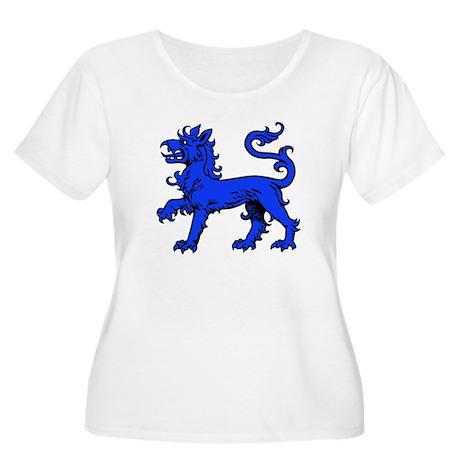 East Kingdom Women's Plus Size Scoop Neck T-Shirt