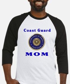 COAST GUARD MOM Baseball Jersey
