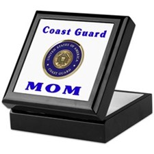 COAST GUARD MOM Keepsake Box