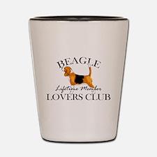 Beagle Lover's Club Shot Glass