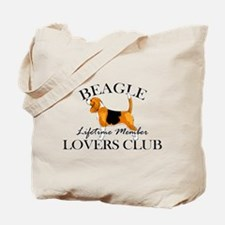 Beagle Lover's Club Tote Bag