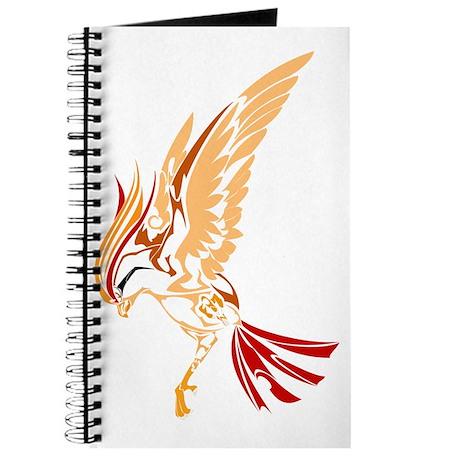 Tribal style bird Journal