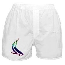 rainbow shark Boxer Shorts