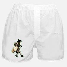 hula dancer Boxer Shorts