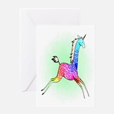 Girafficorn Greeting Card