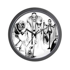 Classic movie monsters Wall Clock