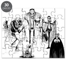 Classic movie monsters Puzzle
