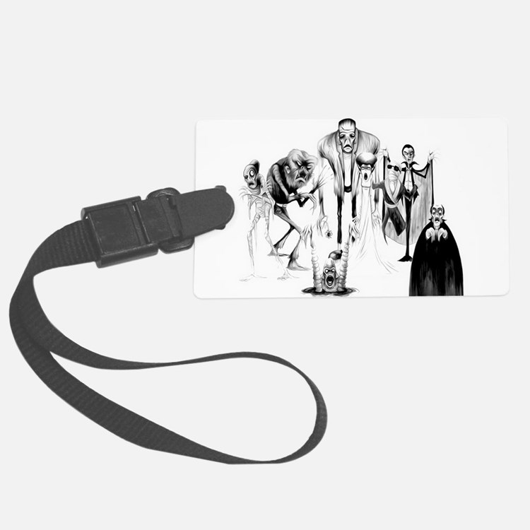 Classic movie monsters Luggage Tag