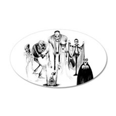 Classic movie monsters Wall Sticker