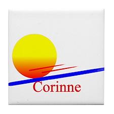 Corinne Tile Coaster