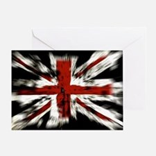 UK Flag England Greeting Card