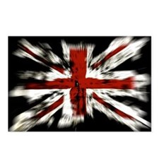 UK Flag England Postcards (Package of 8)