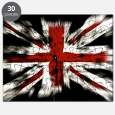 UK Flag England Puzzle