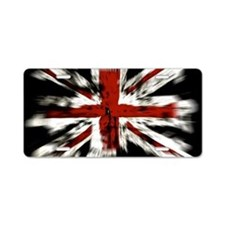 UK Flag England Aluminum License Plate