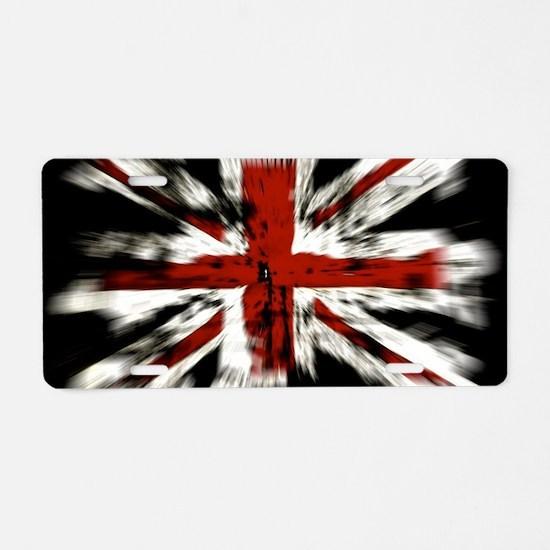 UK Flag England Aluminum License Plate